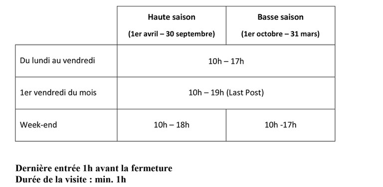 horaire fr